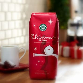 Amazon.com : Starbucks Christmas Blend Ground Coffee 10oz ...