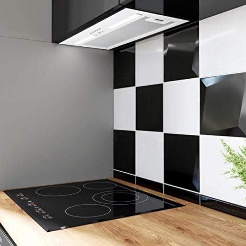 Campana extractora empotrable de 60 cm, color blanco, 320 m3/h, 45 dB: Amazon.es: Grandes electrodomésticos