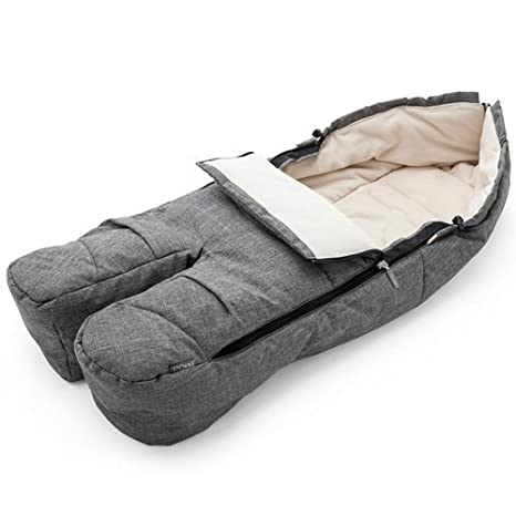 Stokke Footmuff - Black Melange by Stokke: Amazon.es: Bebé