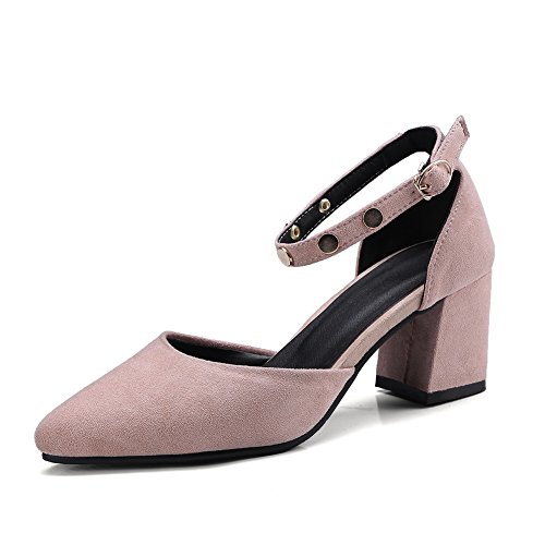 Sandales Compensées Femme ASL05456 Rose BalaMasa XwxPqO1n