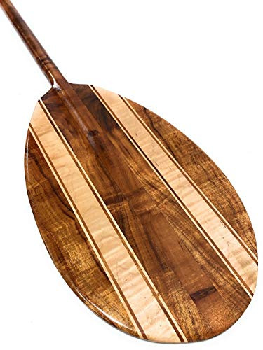 Tikimaster Curly Koa Canoe Paddle 60