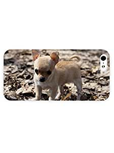 3d Full Wrap Case for iPhone 5/5s Animal Cute Small Puppy