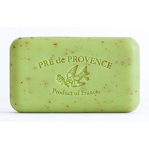 Lime Zest (Pre de Provence Artisanal French Soap Bar Enriched with Shea Butter, Quad-Milled For A Smooth & Rich Lather (150 grams) - Lime Zest)