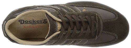 Dockers 322530-350010 - Zapatos con cordones de cuero hombre marrón - Braun (chocolate)