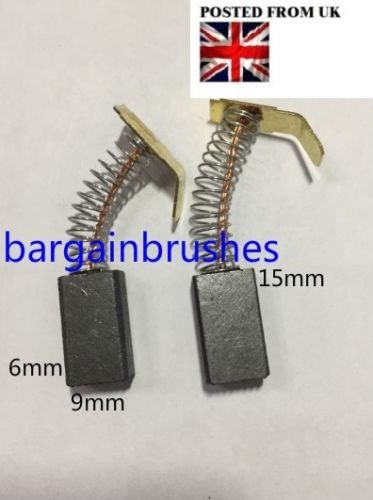 1 PAIR Carbon Brushes for Bosch 36V GBH36V /& VF SDS Drill BS11