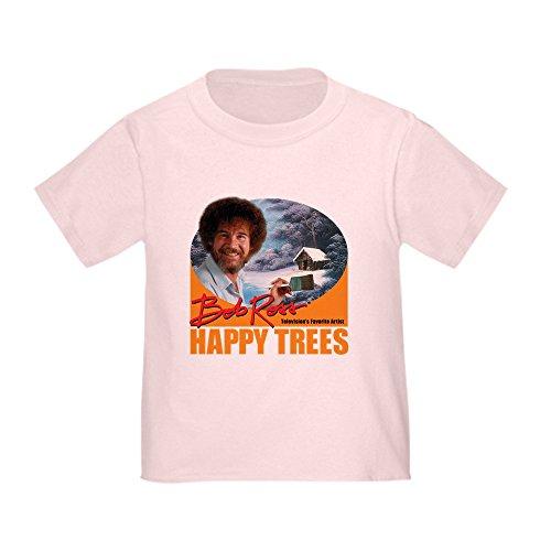 (CafePress - Bob Ross - Cute Toddler T-Shirt, 100% Cotton)