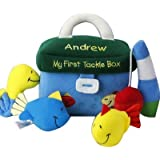 """Embroidered My First Tackle Box Playset, 5 Piece Set, 7.5"""" H x 4.5"""" W, Safe for All Ages, Fishing Toy for Kids, Toy…"""