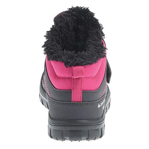 QUECHUA - Zapatillas de Senderismo de Caucho para niño, Color Rosa, Talla 24 EU: Amazon.es: Zapatos y complementos