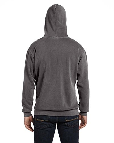 Garment Dyed Pullover Hood (Comfort Colors 9.5 oz. Garment-Dyed Pullover Hood, M, Pepper)