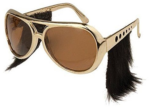 Loftus International Elvis Glasses with Sideburns