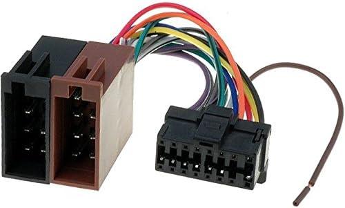 Radio Adaptador Cable para Pioneer autoradio 14 polos puerto enchufe ISO