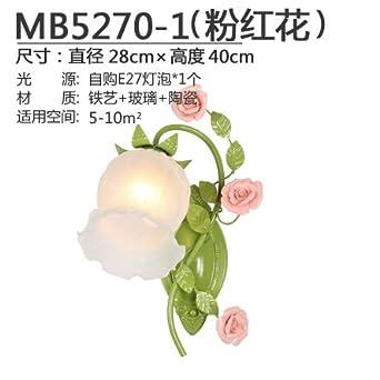 SISANLAI Lampe de Mur Haut Bas applique murale fleurs de ...