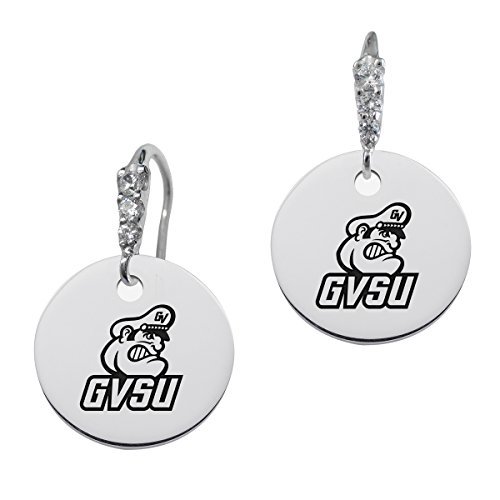 Grand Valley State Lakers Round CZ Cluster Earrings (Grand Cluster Ring)