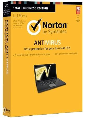 Norton Antivirus 2013 - 5 Users