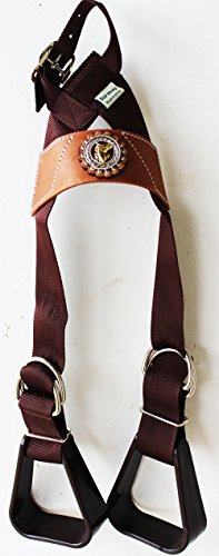 Saddle Youth Show (Western Show Horse Saddle Buddy Stirrups kids Child Youth Pony Rodeo 5138CO255)