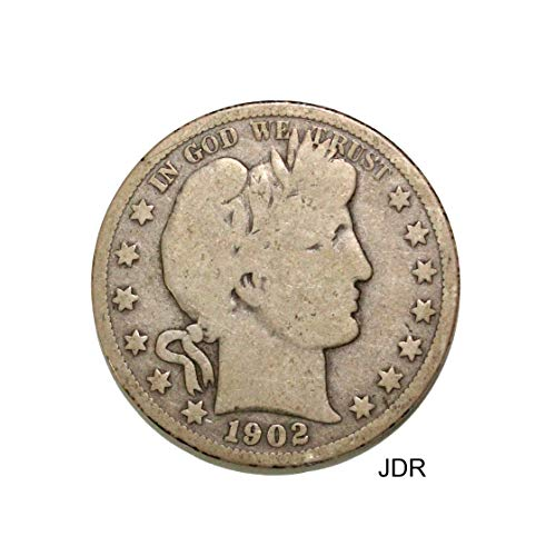 1902 O Barber Half Dollar Half Dollar Very Good