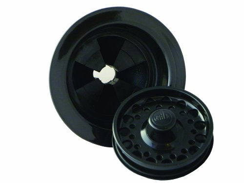 Opella 90188.06 Disposal Flange Trim Kit, Black