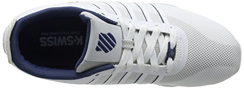 Arvee Homme 1 Ensign Bleu Tech 43 Blanc Basses 5 White Sneakers Blue EU Swiss White K 0Cfx5wqO