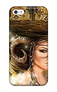 Durable Devil Woman Fantasy Women Abstract Fantasy Back Case/cover For Iphone 5/5s