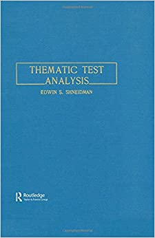 Book Thematic Test Analysis