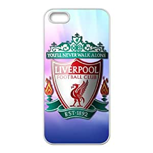 Liverpool Logo iPhone 5 5s Cell Phone Case White Protect your phone BVS_586904