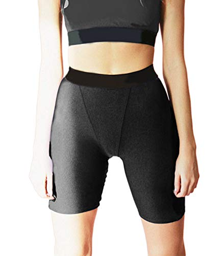 KIWI RATA Womens High Waisted Shorts Bike Sport Fitness Gym Tight Butt Lifting Workout Girls Running Yoga Leggings Hot Pants -