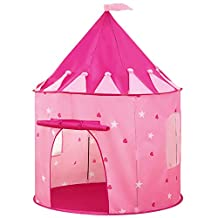 Kids Princess Play Tent,VicPow Childrens Girls Playhouse Castle Tent With Carrying Case,For Indoor & Outdoor Use