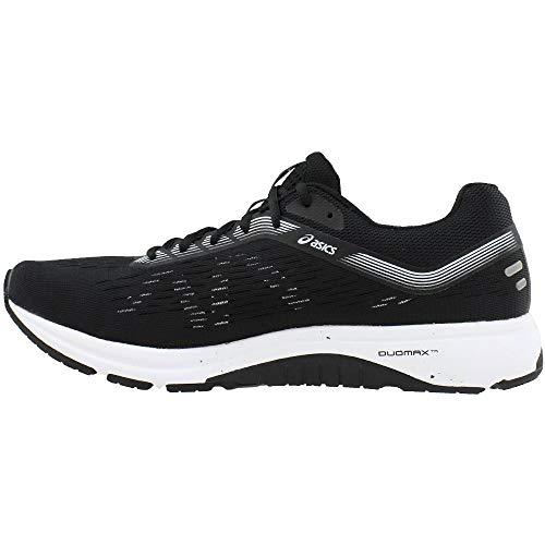 ASICS 1011A042 Men's GT-1000 7 Running Shoe Black/White by ASICS (Image #3)