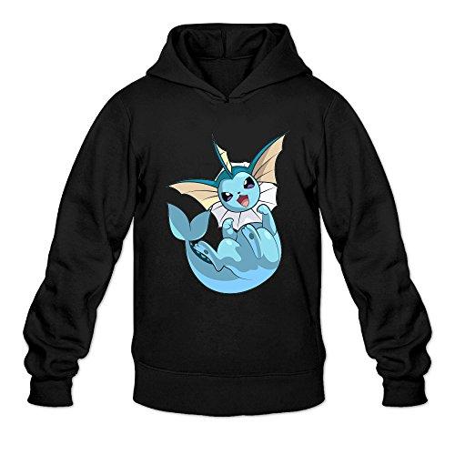 P-Jack Men's Vaporeon Beauty Training Hooded Sweatshirt SizeM - Wills Jack Mens Blazer