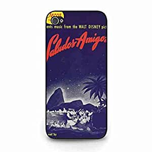 Cool Saludos Amigos Poster iPpone 5C Back Carrier,Classical iPpone 5C Funda,Saludos Amigos Back Funda
