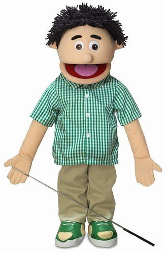 ''Kenny'', 25In Full Body Puppet, Peach -Affordable Gift for your Little One! Item #DSPU-SP2721 ''Kenny'' Silly Puppets