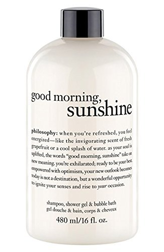 - Philosophy Good Morning Sunshine Shampoo Shower Gel & Bubble Bath (16 oz)