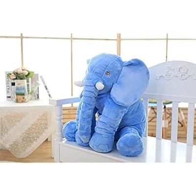 MJTP Stuffed Elephant Toys Elephant Cushion Soft Toys Plush Elephant Birthday Gift: Toys & Games