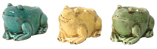 A&B Home Frog Tealight Candle Holder, Set of - Candle Holder Frog