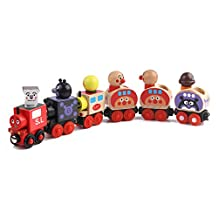 6 Piece Wooden Magnetic Little Toys Train Cars Set for Toddler Boys Kids and Girls Games Party - Educational Toys