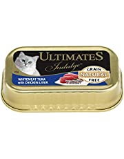 Ultimates Cat Pet Food Whitemeat Tuna with Chicken Liver, 80 x 85g, 80 Piece