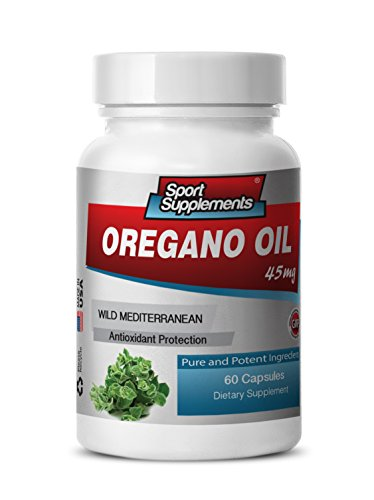 oregano wild essential oil - Oregano Leaf Oil standardized 70% extract - boost digestive system and immune response with Oregano Oil extract (1 bottle 60 capsules)
