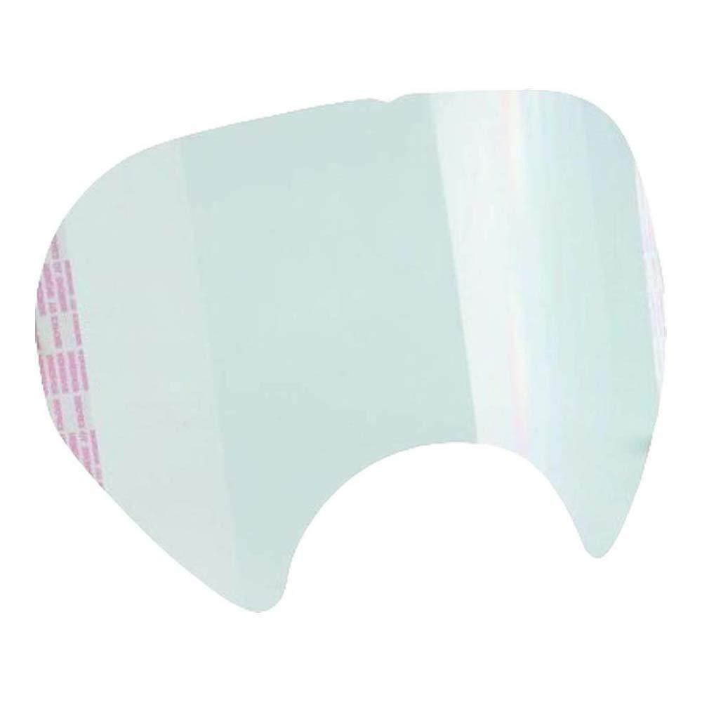 3M Protector de pantalla desplegable para máscara completa S6000 (25 protectores/caja), 25 Unidades, 6885