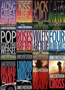 Patterson's Complete 25-book ALEX CROSS Series -- From