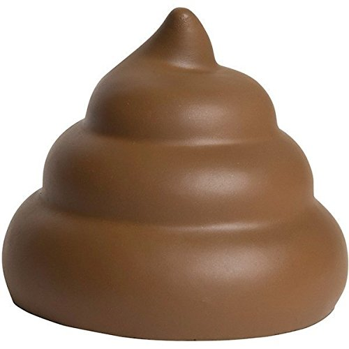 2 Poop Emojis Stress Balls - Nothing a little poo can't make better - One stress ball for each hand by Me So Funny (Image #3)