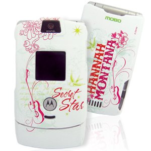 Disney Officially Licensed Hannah Montana Protector Hard Case Cover fits Motorola V3