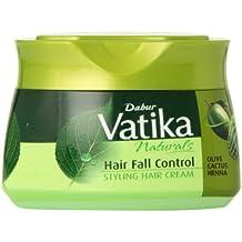Dabur Vatika Naturals Hair Fall Control Styling Hair Cream - Olive cactus, 210 ml