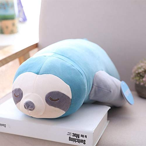 New 65-100Cm Simulation Cute Sloth Plush Toy Sloths Soft Stuffed Animal Plushie Doll Pillow Cushion for Kids Birthday Gift Must Have Tools Gift Ideas The Favourite Toys Superhero Cupcake Toppers by KoreaFashion