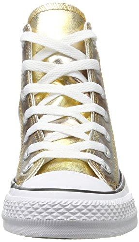 Silver white Ctas gold silver Mixte gold Converse Mehrfarbig Baskets Adulte Hautes Hi qw7IgwExC