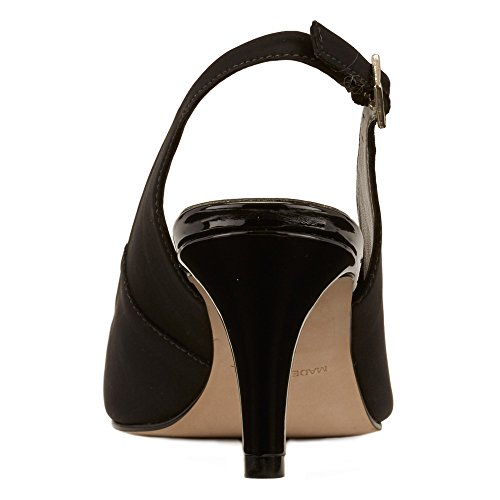 Walking Cradles Mujeres Sidney Dress Pump Black Leather