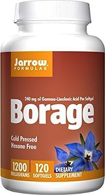 Jarrow Formulas Borage GLA-240 + Gamma Tocopherol
