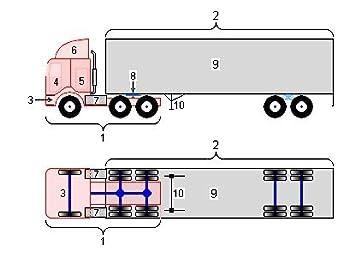 amazon com laminated poster coe (cab over engine) 18 wheeler semi utility trailer brake wiring diagrams laminated poster coe (cab over engine) 18 wheeler semi trailer truck diagram