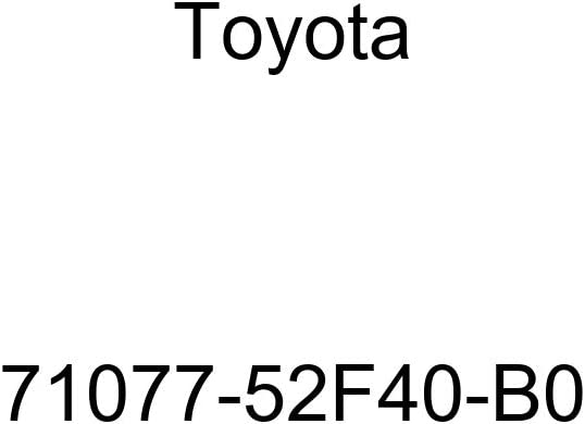 TOYOTA Genuine 71077-52F40-B0 Seat Back Cover