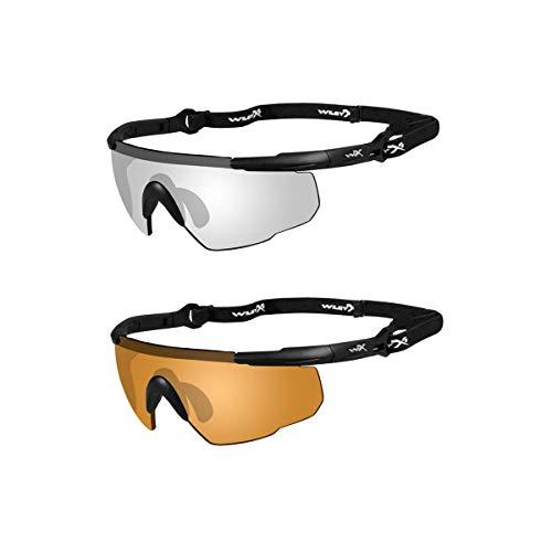Wiley X Saber Advanced Smoke Gray Clear Light Rust Lens Matte ()