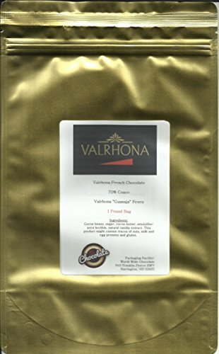 Valrhona Chocolate Guanaja 70% Feves - 1 lb